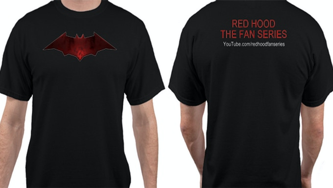 OFFICIAL SERIES T-SHIRT! (*NOT LICENSED BY DC COMICS, NOT AVAILABLE FOR SALE! DON'T MISS IT!)