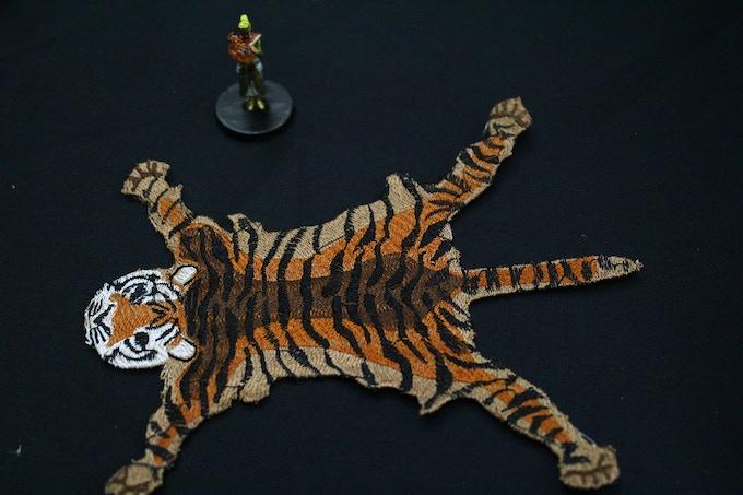 Javeere Jungle Tiger Rug