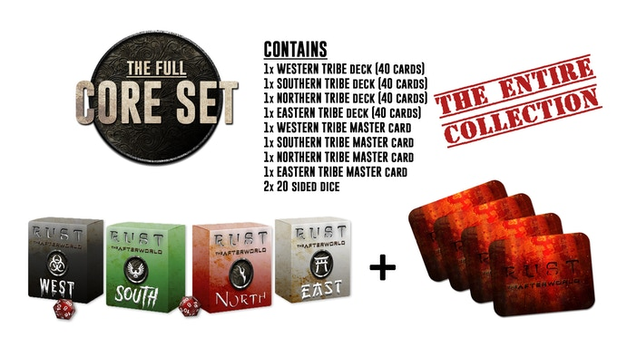 *All the four Tribe Decks are pre-constructed, they are NOT randomly combined. Which means that buying the full Core Set you will receive all the cards we have created!