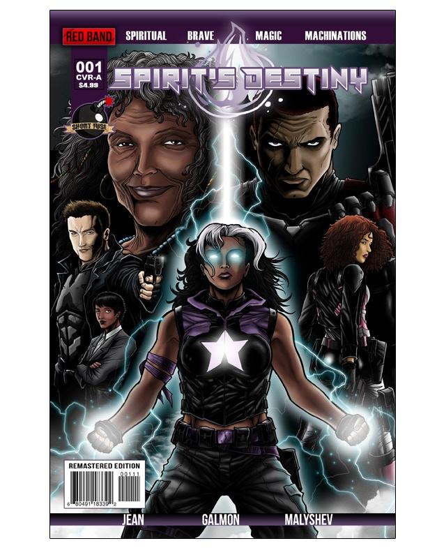 Spirit's Destiny #1 (Remastered Edition) Cover Image