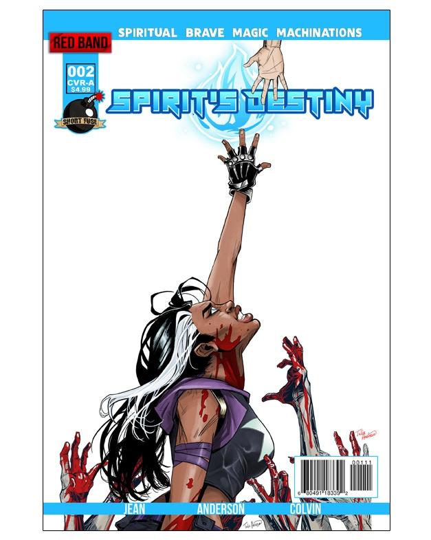 Spirit's Destiny #2 Cover Image