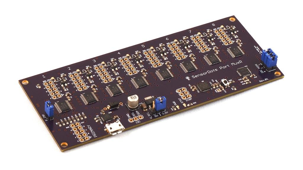 SensorDots Port MuxR | A KVM Switch but for Electronics project video thumbnail