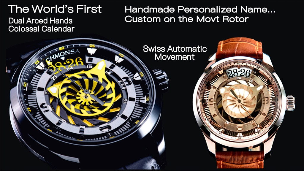 CHMONSA - Truly Swiss Grade Watch with Affordable Price project video thumbnail