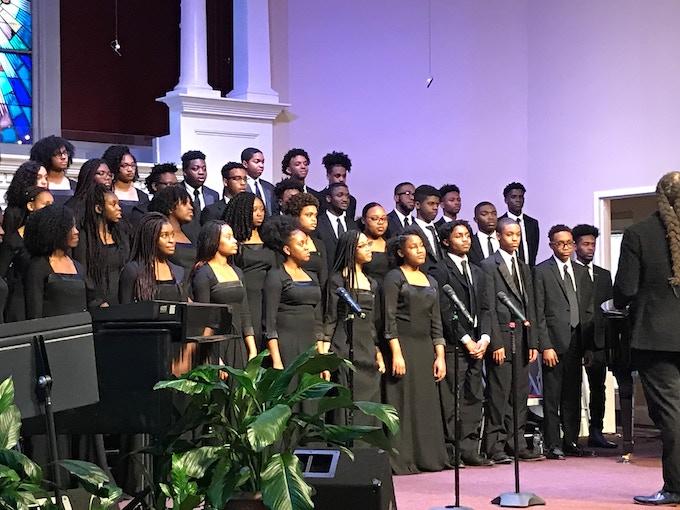 Pine Forge Choir at Community Praise Church in Alexandria, VA