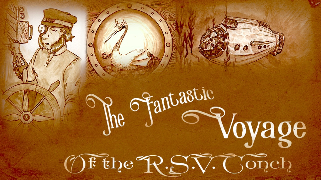 The Fantastic Voyage of the R.S.V. Conch - A Steampunk Comic project video thumbnail