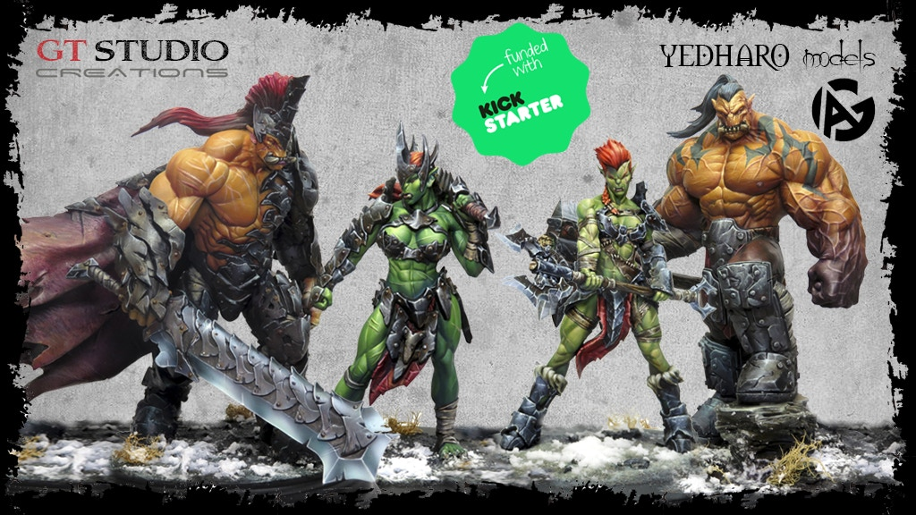 Orc Warband Collectors by Yedharo and GT Studio Creations project video thumbnail