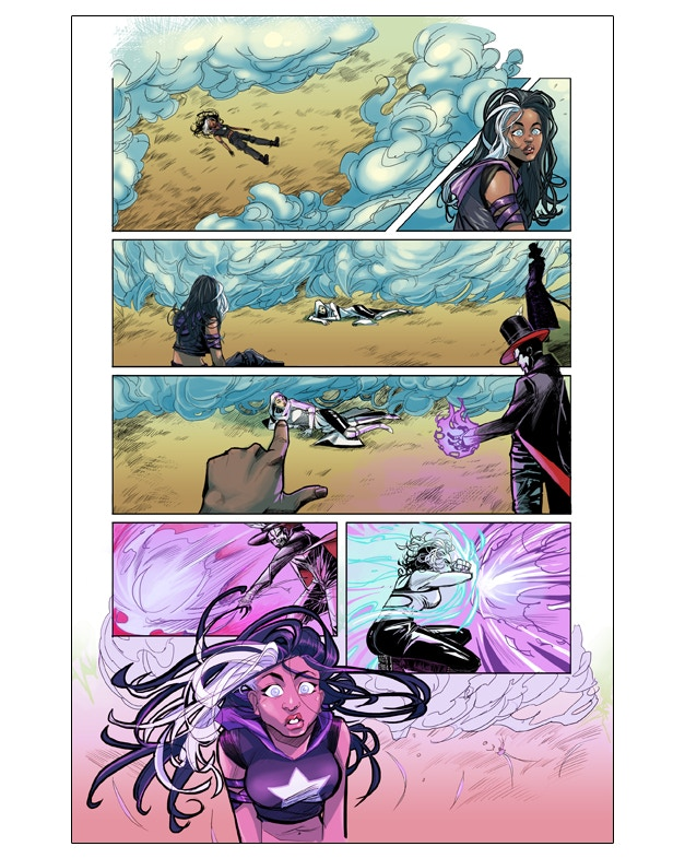 Interior Page from Spirit's Destiny #2