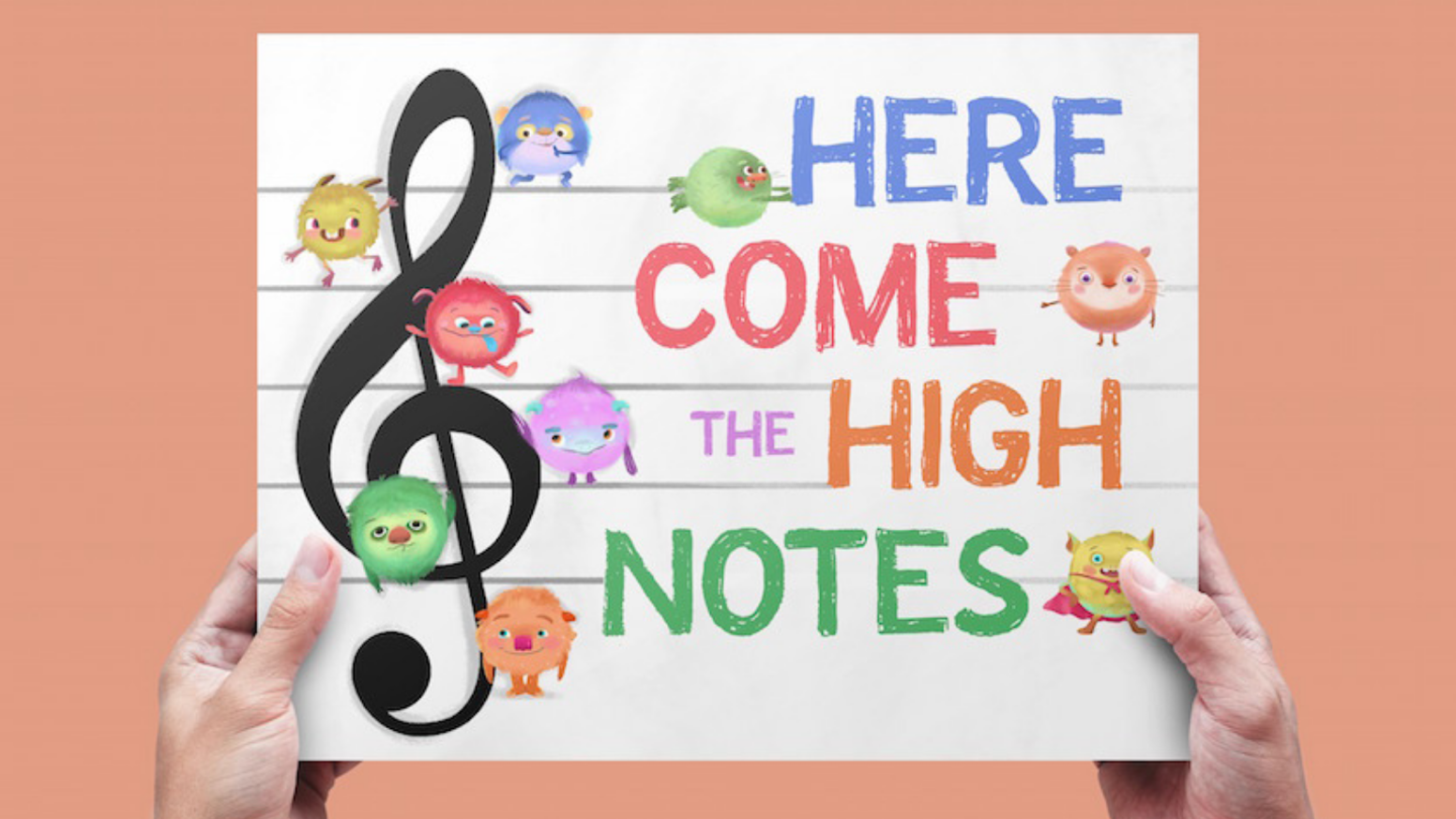 A mnemonic picture book that makes music reading fun and accessible.