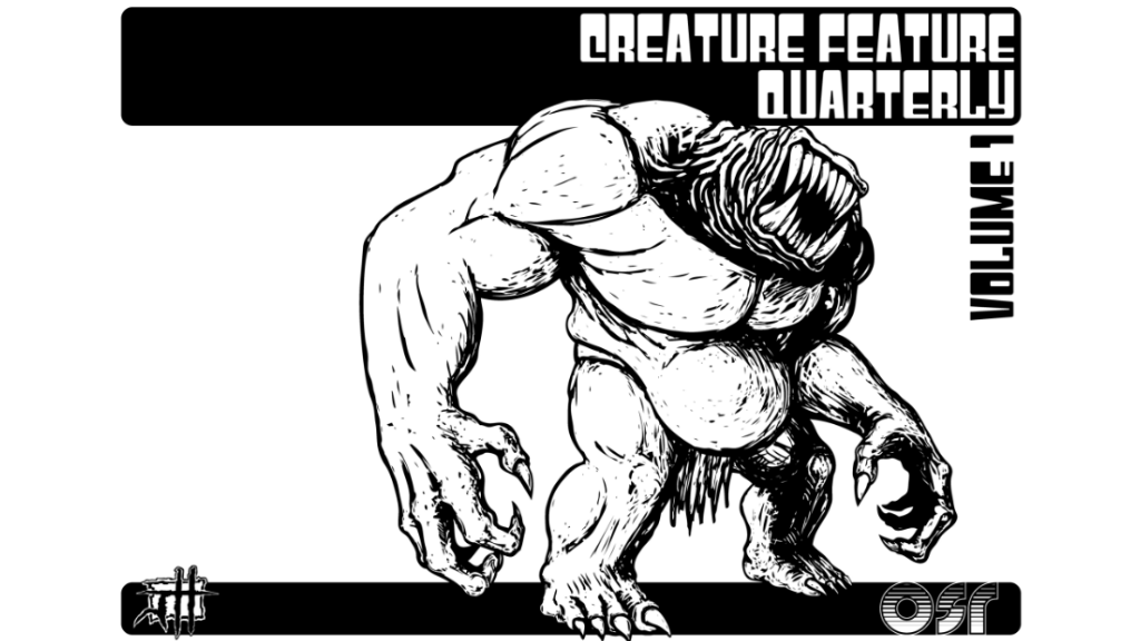 Creature Feature Quarterly Vol. 1 -for- The OSR project video thumbnail