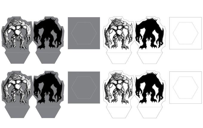 A sample of the Arbori paper mini design.