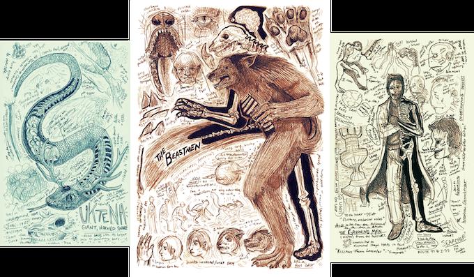 Bestiary of American Cryptozoology, Mythology, & Paranormal