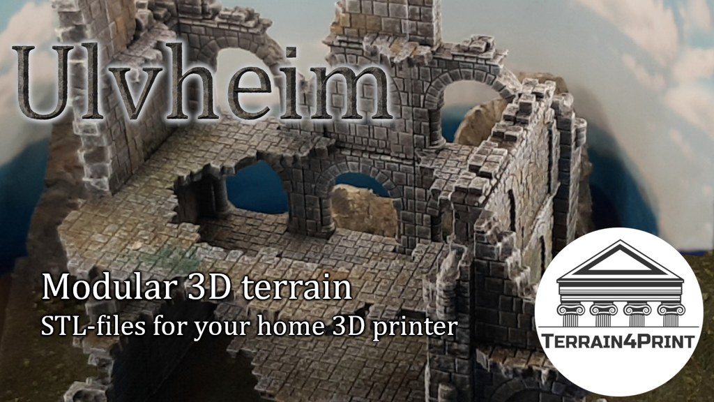 Terrain4Print - Ulvheim