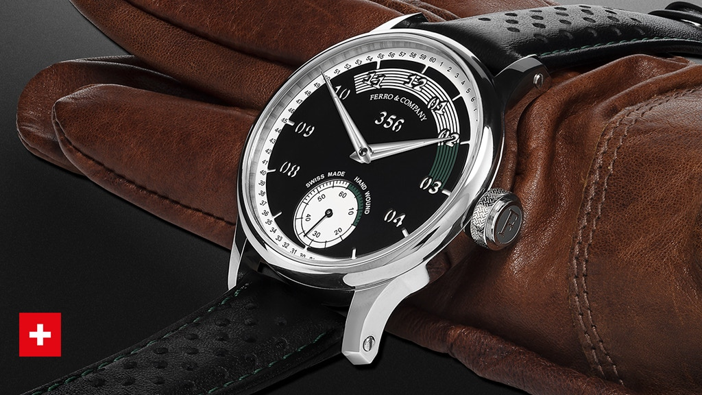 Swiss Made Watch Inspired by Porsche 356 Tachometer
