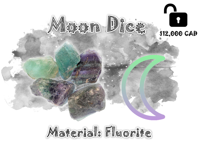 Unlocked! $7.00 add-on per dice for all backers who pledged $45.00 or more.