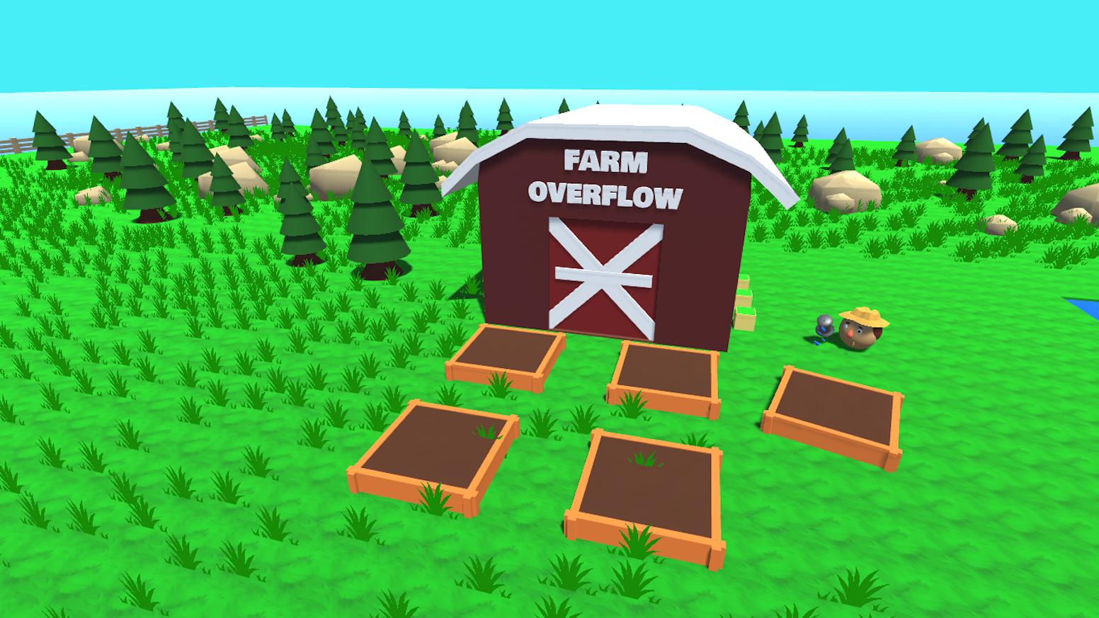 Farm Overflow: A Calm, Fast Paced, Farming Simulation! by