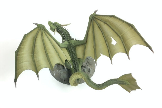 Great Dragon paint example.