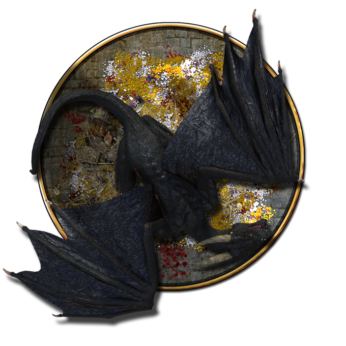 dragon from the token set