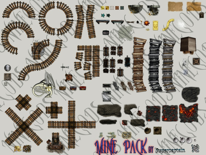 mine arts from the mine art pack
