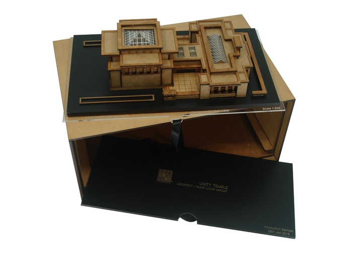 For the Archive - Reward, Model and storage box