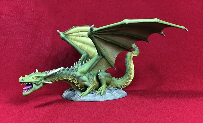Dragonlock Bringing New 3D Printable Miniatures To Your Home