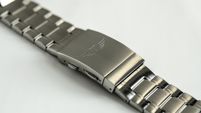 Steel Strap included with Every Steel TORSK-DIVER