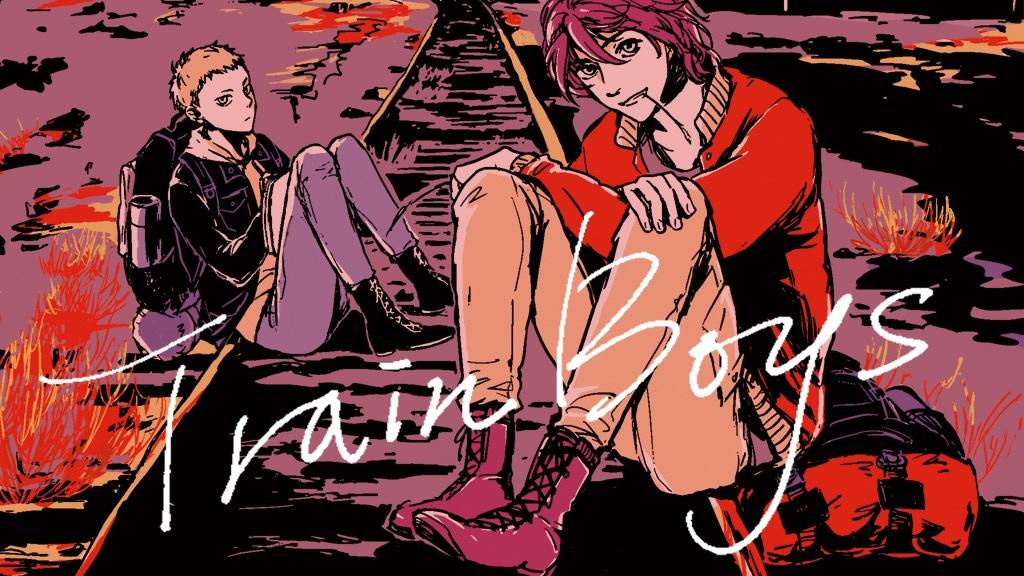 Train Boys: Adventure&Yaoi Manga of riding freight trains project video thumbnail