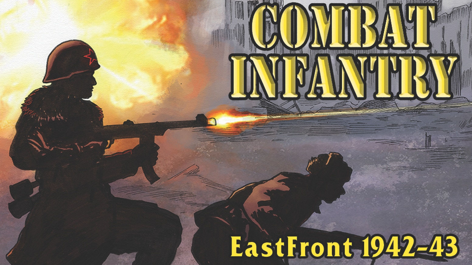 The second installment in the Combat Infantry series: EastFront. You do not need Combat Infantry: WestFront to play.