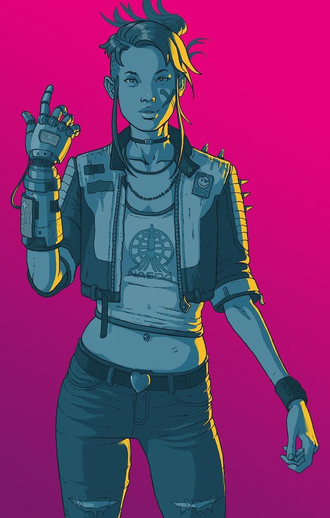 Meet master hacker Blaze: a brand new character in Killtopia #2