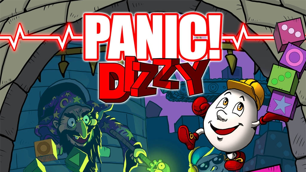 Panic! Dizzy - A 'new' old game by The Oliver Twins