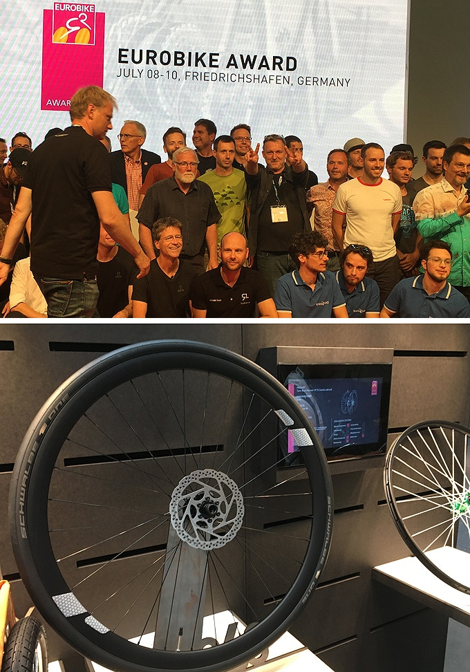 EUROBIKE-AWARD for FLECTR 360. (Our second one in a row after 2017!)