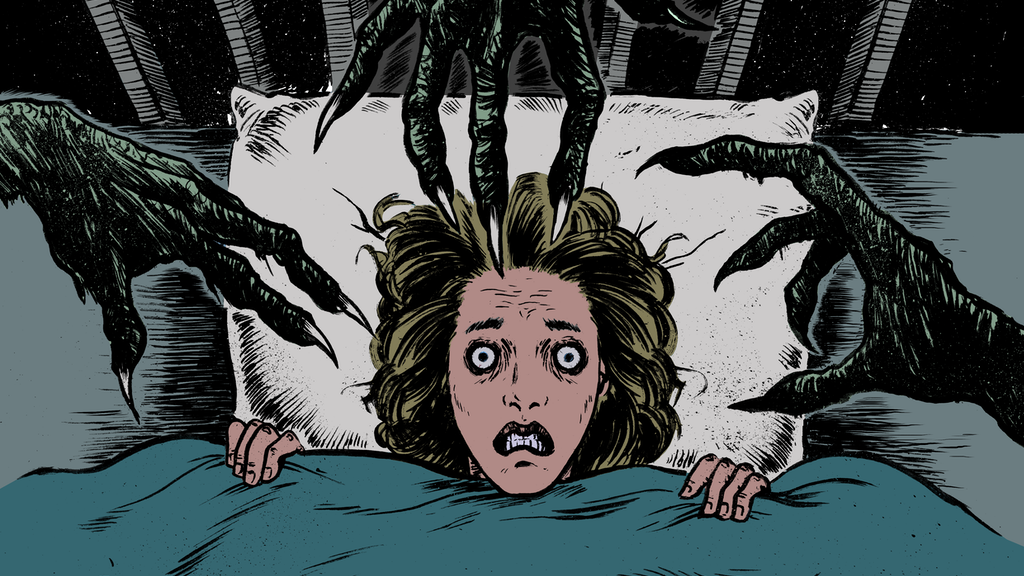 STAY AWAKE #1 - A Psychological Horror Comic Series project video thumbnail