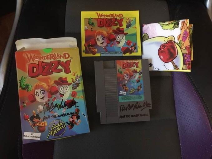 Wonderland Dizzy contents