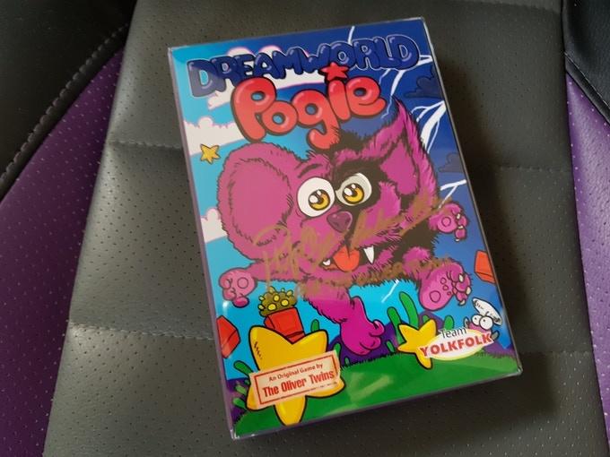 Dreamworld Pogie boxed game in plastic casing