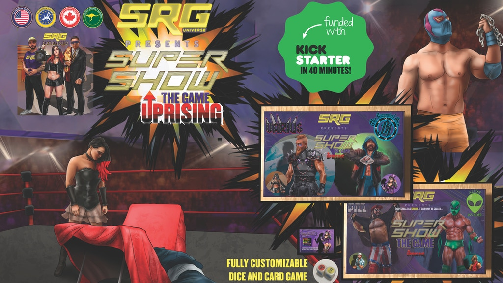 Supershow the Game: The Uprising is the top crowdfunding project launched today. Supershow the Game: The Uprising raised over $33308 from 235 backers. Other top projects include PYXA   DIY Game Console, Heartwarming Anime Hard Enamel Pins, The Bolted Book: An Avant-garde Masterpiece...