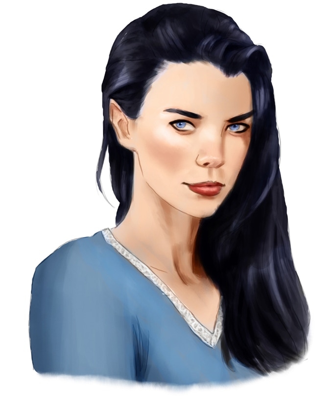 Cassandra the Temptress - One of the original NPCs from the 1987 Game