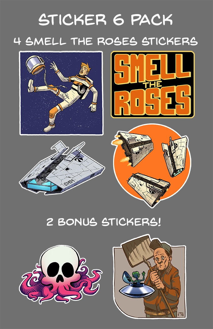 Stickers 6-Pack