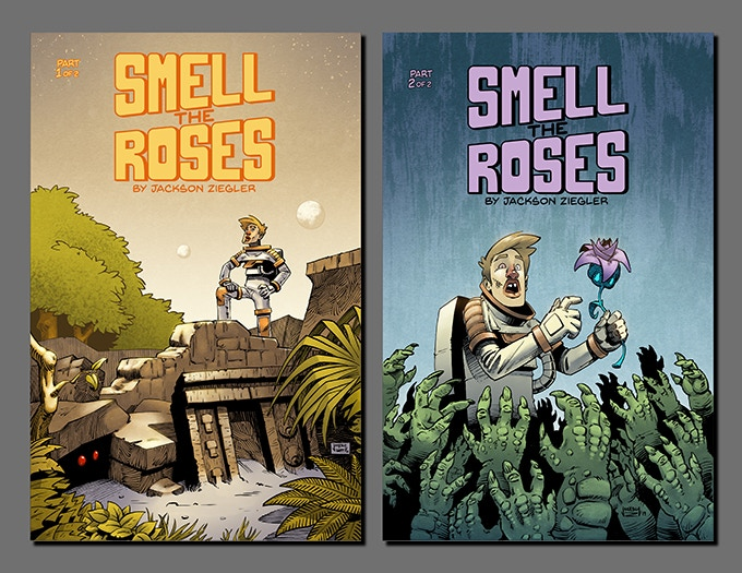 Smell the Roses Issues 1 and 2
