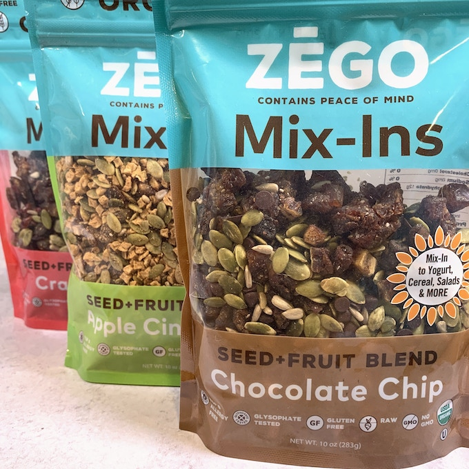 ZEGO's Mix-Ins are so versatile, we have a Recipe Guide for them on our website!