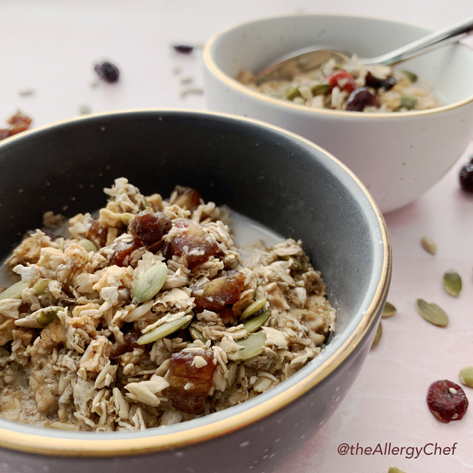 ZEGO's Cinnamon Twist Muesli has a sweet and warming flavor for gentle mornings.
