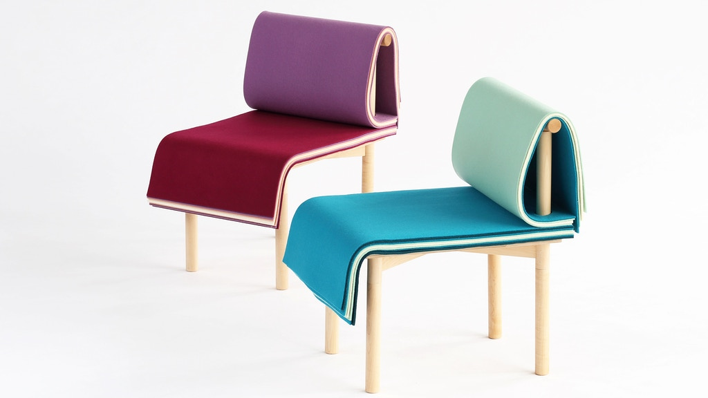 PAGES | A Colorful Adjustable Chair project video thumbnail