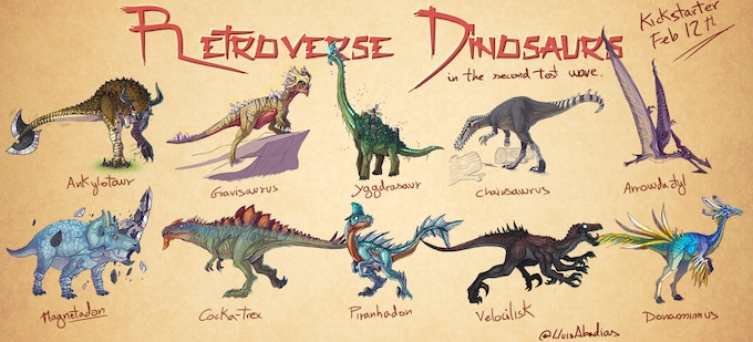 We thought you needed more dinosaurs.