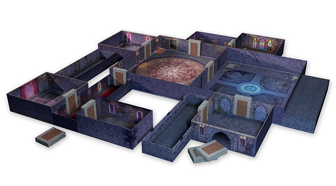 One of the launching sets for Tenfold Dungeon - The Castle.