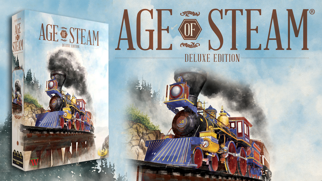 Age of Steam: Deluxe Edition is the top crowdfunding project launched today. Age of Steam: Deluxe Edition raised over $96420 from 1170 backers. Other top projects include Cthulhu Coins by Sandy Petersen & Metallic Legends,
