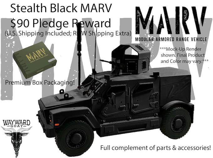 Stealth Black MARV Reward