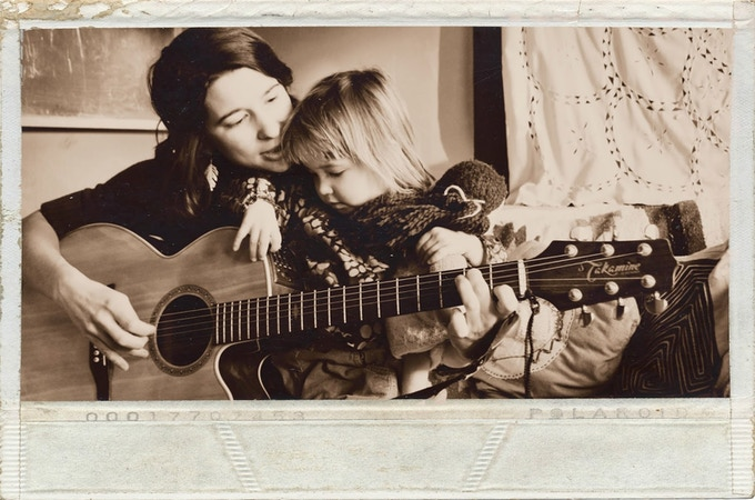 Me and my daughter Stella circa Spring 2014. Photo by Erin Huber from the Mother Artist Project.