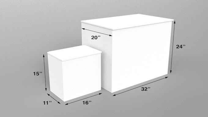 Original Porch Pod and Porch Pod XL
