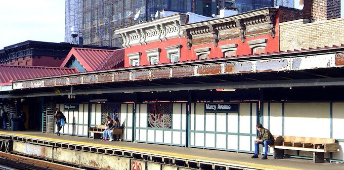 Marcy Station Brooklyn NYC