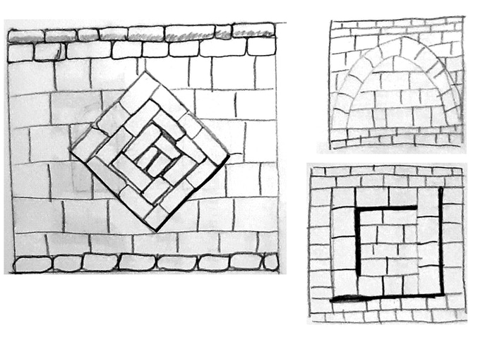 Solid wall sketches