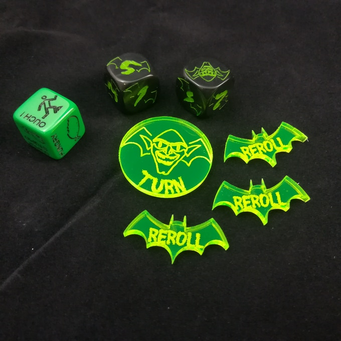 Special gobbo die and markers