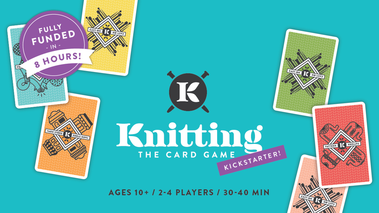 Dive into the fun and beautiful world of fiber art with this knitting based card game featuring indie designers and indie dyers.